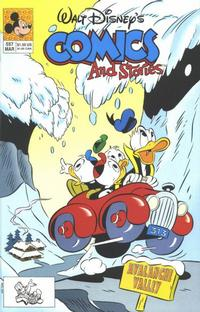 Cover Thumbnail for Walt Disney's Comics and Stories (Disney, 1990 series) #557