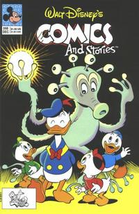 Cover Thumbnail for Walt Disney's Comics and Stories (Disney, 1990 series) #566