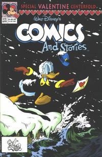 Cover Thumbnail for Walt Disney's Comics and Stories (Disney, 1990 series) #570