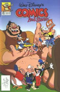 Cover Thumbnail for Walt Disney's Comics and Stories (Disney, 1990 series) #580