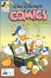 Cover Thumbnail for Walt Disney's Comics and Stories (Disney, 1990 series) #581