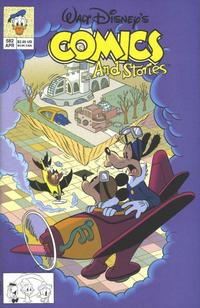 Cover Thumbnail for Walt Disney's Comics and Stories (Disney, 1990 series) #582