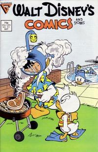 Cover Thumbnail for Walt Disney's Comics and Stories (Gladstone, 1986 series) #511 [Direct]