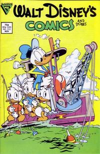 Cover Thumbnail for Walt Disney's Comics and Stories (Gladstone, 1986 series) #512