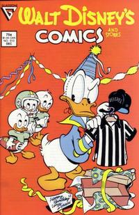 Cover Thumbnail for Walt Disney's Comics and Stories (Gladstone, 1986 series) #513