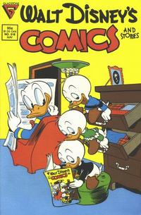 Cover Thumbnail for Walt Disney's Comics and Stories (Gladstone, 1986 series) #518 [Direct]