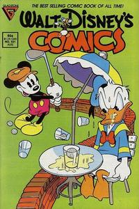 Cover Thumbnail for Walt Disney's Comics and Stories (Gladstone, 1986 series) #521