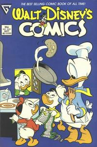 Cover Thumbnail for Walt Disney's Comics and Stories (Gladstone, 1986 series) #522