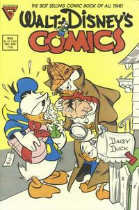 Cover Thumbnail for Walt Disney's Comics and Stories (Gladstone, 1986 series) #526 [Direct]