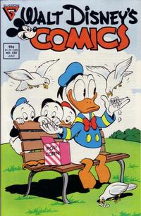 Cover Thumbnail for Walt Disney's Comics and Stories (Gladstone, 1986 series) #530 [Direct]