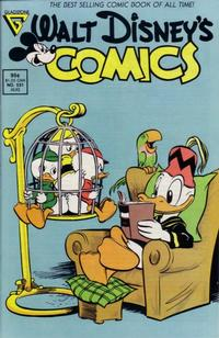 Cover Thumbnail for Walt Disney's Comics and Stories (Gladstone, 1986 series) #531