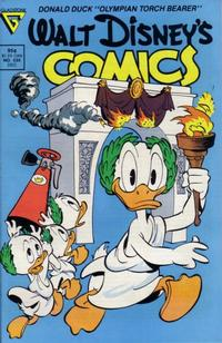 Cover Thumbnail for Walt Disney's Comics and Stories (Gladstone, 1986 series) #535 [Direct]