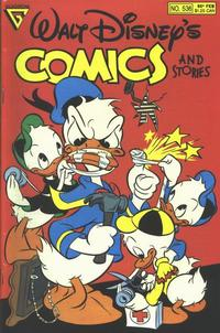 Cover Thumbnail for Walt Disney's Comics and Stories (Gladstone, 1986 series) #536