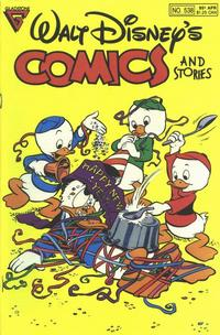Cover Thumbnail for Walt Disney's Comics and Stories (Gladstone, 1986 series) #538