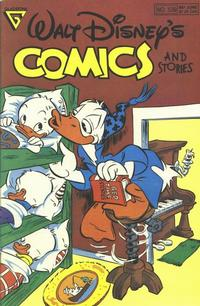 Cover for Walt Disney's Comics and Stories (Gladstone, 1986 series) #539
