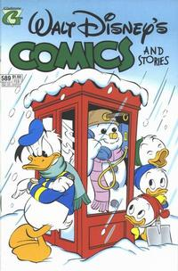 Cover Thumbnail for Walt Disney's Comics and Stories (Gladstone, 1993 series) #589