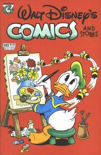 Cover Thumbnail for Walt Disney's Comics and Stories (Gladstone, 1993 series) #592