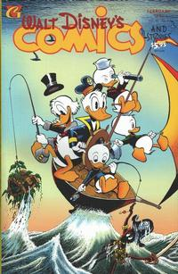 Cover for Walt Disney's Comics and Stories (Gladstone, 1993 series) #v55#3 / 601
