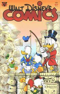 Cover Thumbnail for Walt Disney's Comics and Stories (Gladstone, 1993 series) #v55#4 / 602