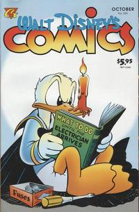 Cover Thumbnail for Walt Disney's Comics and Stories (Gladstone, 1993 series) #605