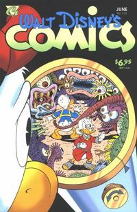 Cover Thumbnail for Walt Disney's Comics and Stories (Gladstone, 1993 series) #613