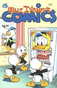 Cover Thumbnail for Walt Disney's Comics and Stories (Gladstone, 1993 series) #614
