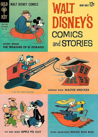 Cover Thumbnail for Walt Disney's Comics and Stories (Western, 1962 series) #v22#12 (264)