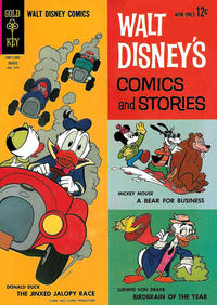 Cover Thumbnail for Walt Disney's Comics and Stories (Western, 1962 series) #v23#6 (270)
