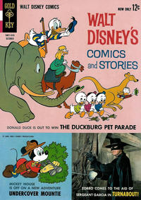Cover Thumbnail for Walt Disney's Comics and Stories (Western, 1962 series) #v24#1 (277)