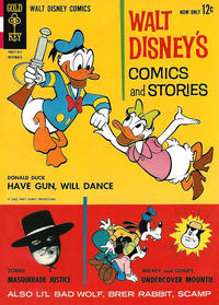 Cover Thumbnail for Walt Disney's Comics and Stories (Western, 1962 series) #v24#2 (278)