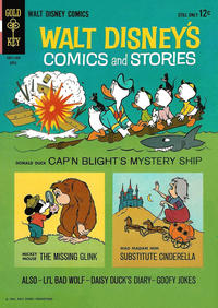 Cover Thumbnail for Walt Disney's Comics and Stories (Western, 1962 series) #v24#7 (283)