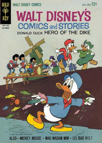 Cover Thumbnail for Walt Disney's Comics and Stories (Western, 1962 series) #v24#12 (288)
