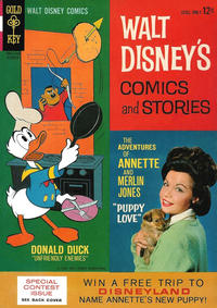 Cover Thumbnail for Walt Disney's Comics and Stories (Western, 1962 series) #v25#1 (289)