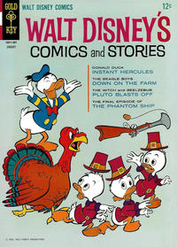 Cover Thumbnail for Walt Disney's Comics and Stories (Western, 1962 series) #v25#4 (292)