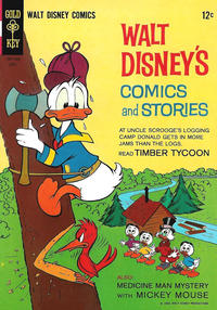 Cover Thumbnail for Walt Disney's Comics and Stories (Western, 1962 series) #v25#7 (295)
