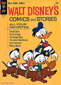 Cover Thumbnail for Walt Disney's Comics and Stories (Western, 1962 series) #v25#9 (297)