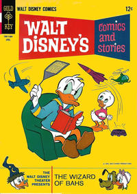 Cover Thumbnail for Walt Disney's Comics and Stories (Western, 1962 series) #v26#7 (307)