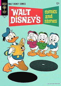 Cover Thumbnail for Walt Disney's Comics and Stories (Western, 1962 series) #v27#9 (321)