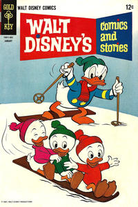 Cover Thumbnail for Walt Disney's Comics and Stories (Western, 1962 series) #v28#4 (328)