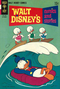 Cover Thumbnail for Walt Disney's Comics and Stories (Western, 1962 series) #v28#12 (336)