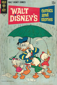 Cover Thumbnail for Walt Disney's Comics and Stories (Western, 1962 series) #v29#9 (345)