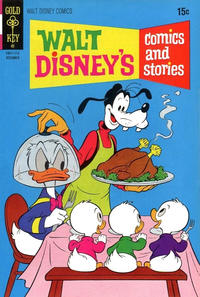 Cover Thumbnail for Walt Disney's Comics and Stories (Western, 1962 series) #v32#3 (375) [Gold Key]