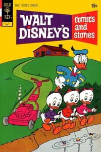 Cover Thumbnail for Walt Disney's Comics and Stories (Western, 1962 series) #v32#9 (381) [Gold Key]