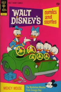 Cover Thumbnail for Walt Disney's Comics and Stories (Western, 1962 series) #v32#11 (383) [Gold Key]