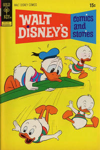Cover Thumbnail for Walt Disney's Comics and Stories (Western, 1962 series) #v32#12 (384)