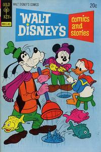 Cover Thumbnail for Walt Disney's Comics and Stories (Western, 1962 series) #v34#4 (400) [Gold Key]