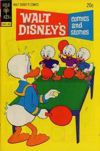 Cover Thumbnail for Walt Disney's Comics and Stories (Western, 1962 series) #v34#6 (402) [Gold Key]