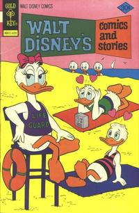 Cover Thumbnail for Walt Disney's Comics and Stories (Western, 1962 series) #v37#1 (433) [Gold Key]