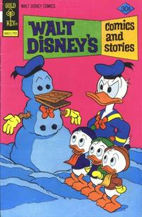 Cover Thumbnail for Walt Disney's Comics and Stories (Western, 1962 series) #v37#6 (438) [Gold Key]