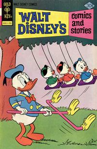Cover Thumbnail for Walt Disney's Comics and Stories (Western, 1962 series) #v37#8 (440) [Gold Key]